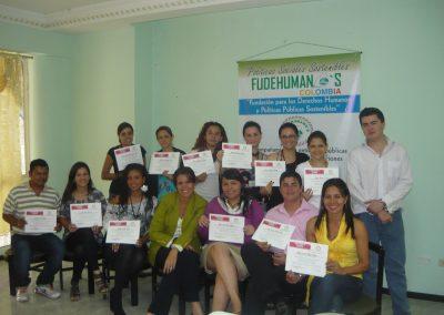 FUDEHUMANOS SEMINARIO EN POLITICA PUBLICA DE DESPLAZMAIENTO ENERO 2011 55